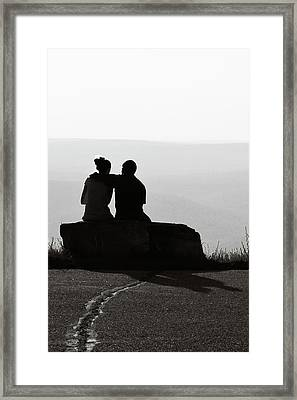 Together Framed Print by Sara Hudock