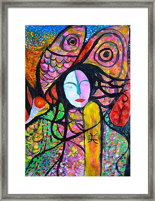 Togetherness Framed Print by Oliver Wong