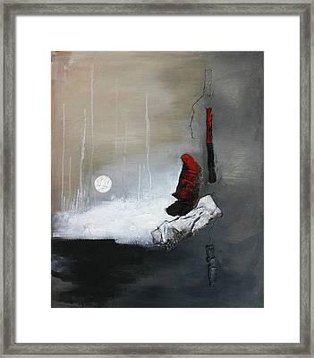 Tokyo Moon Framed Print by Germaine Fine Art
