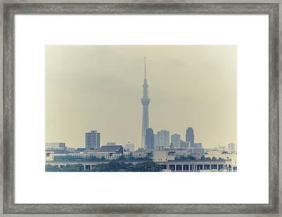 Tokyo Skytree Framed Print by Gregory Ferguson