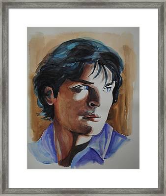 Tom Welling Framed Print