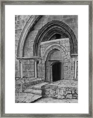 Tomb Of Virgin Mary Framed Print