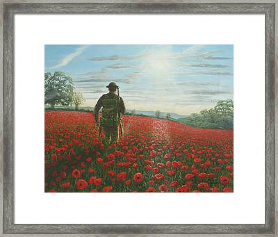 Tommy 2 Framed Print by Richard Harpum
