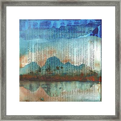 Tomorrow Never Knows Framed Print by Paul OBrien