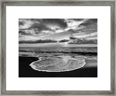 Tongue Of The Ocean Framed Print by Jim Moore
