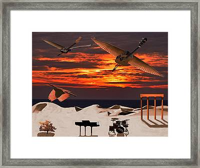 Tonights The Kind Of Night Framed Print by Eric Kempson