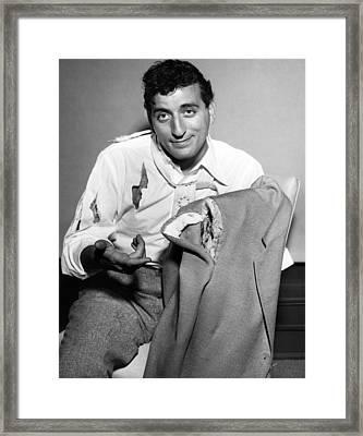 Tony Bennett, C. 1956 Framed Print by Everett