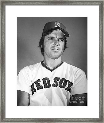 Tony Conigliaro (1945-1990) Framed Print by Granger