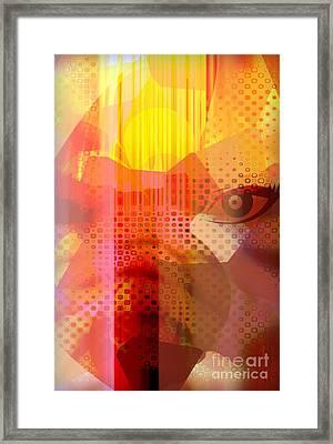Too Bright Framed Print by Fania Simon