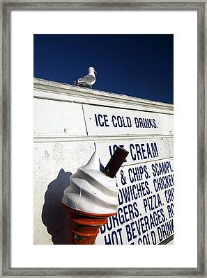 Too Cold For Me Framed Print by Jez C Self