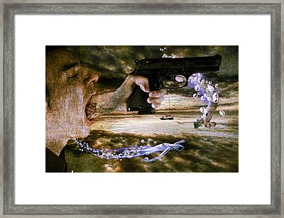 Too Much Talk Framed Print by Nathan Wright