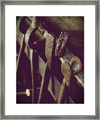 Tools Of The Smith Framed Print by Steven Milner