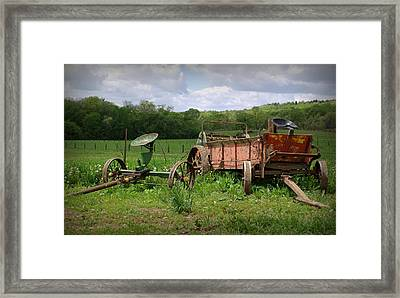 Tools Of The Trade Framed Print by Linda Mishler