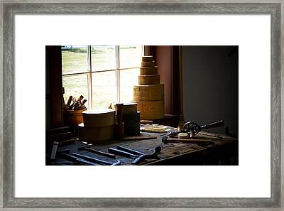Tools Of The Trade Framed Print by Wayne Stacy