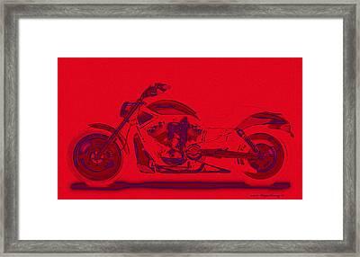 Tooo Hot Framed Print by Wayne Bonney