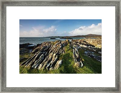 Toormore Coastline Ireland Framed Print