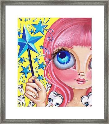 Tooth Fairy Framed Print by Jaz Higgins