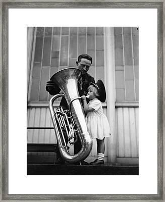 Top Brass Framed Print by Derek Berwin