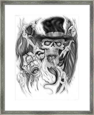 Top Hat Framed Print by Mike Royal