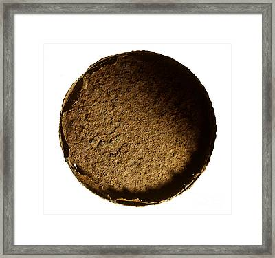 Top Of Can Framed Print
