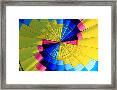 Top Of The Envelope Framed Print by Mark Codington