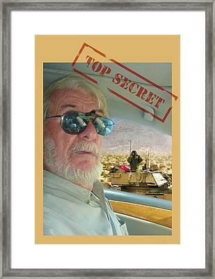 Top Secret Framed Print by Larry Mulvehill