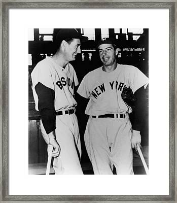 Top Sluggers. Ted Williams Framed Print