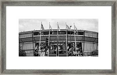 Topless Metrodome  Framed Print by Susan Stone