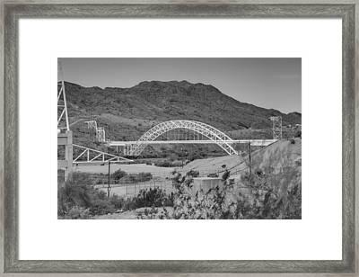 Topock Bridge Framed Print by Ricky Barnard
