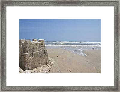 Topsail Castle Framed Print by Betsy Knapp