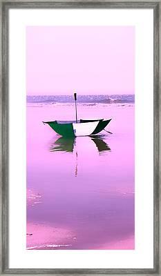 Topsail Drifting Framed Print by Betsy Knapp