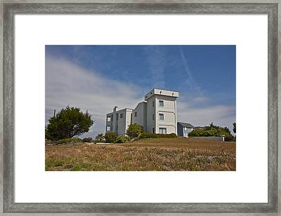 Topsail Island Observation Tower 1 Framed Print