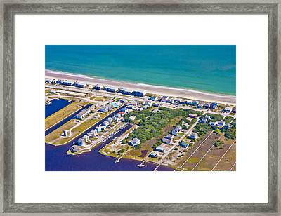 Topsail Island Observation Tower 2 Framed Print