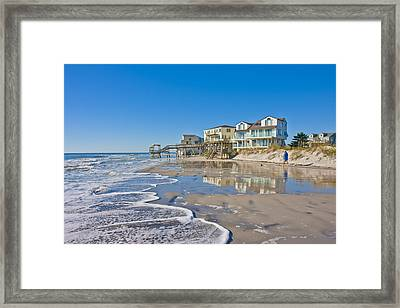Topsail North End Framed Print by Betsy Knapp