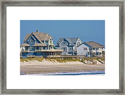 Topsail View Framed Print by Betsy Knapp