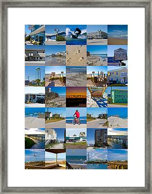 Topsail Visual Contemporary Quilt Series II Framed Print by Betsy Knapp