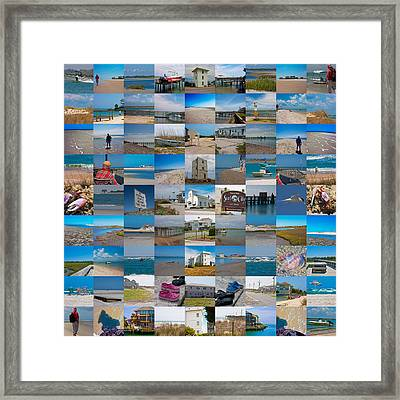 Topsail Visual Contemporary Quilt Series IIi Framed Print by Betsy Knapp