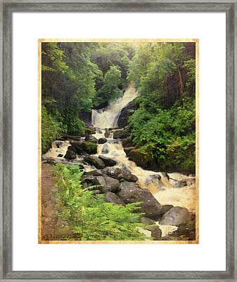 Torc Waterfall In Ireland Framed Print