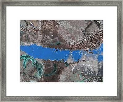 Torn 2 Framed Print by Tim Allen