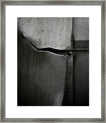 Torn Curtain Framed Print