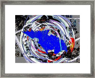 Torn Framed Print by Tim Allen