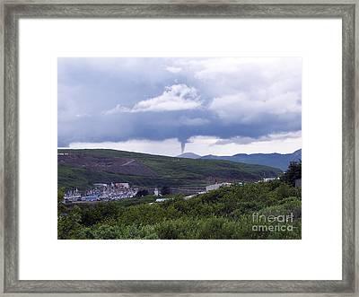 Tornado In Alaska, 2005 Framed Print by Science Source