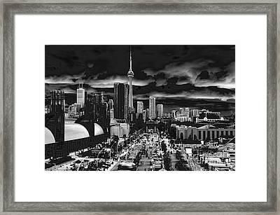 Toronto And The Ex Framed Print