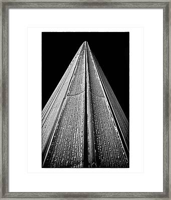 Toronto City Hall East Tower Framed Print by Brian Carson