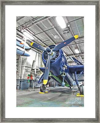 Framed Print featuring the photograph Torpedo Bomber by Jason Abando