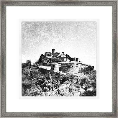 Torriana Castle Framed Print