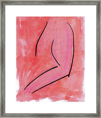 Torso Framed Print by Patrick Morgan