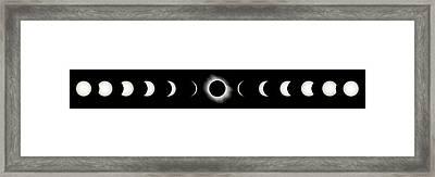 Total Solar Eclipse, 29/03/2006 Framed Print