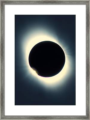 Total Solar Eclipse From Aruba, 26/02/1998 Framed Print