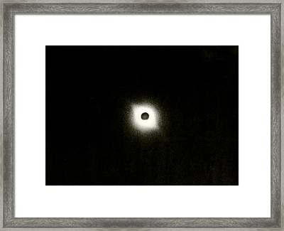 Total Solar Eclipse, Russia, 1954 Framed Print